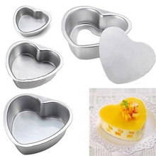 New Springform Pan Chocolate Cake Bake Mould Bakeware Heart Shape Kitchen Accessories Baking Tools(China)