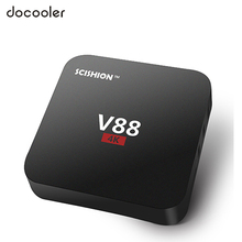 V88 Smart Android 6.0 TV Box RK3229 Quad Core UHD 4K TV Box 1GB 8GB Mini PC WiFi H.265 HD Media Player Set top Box