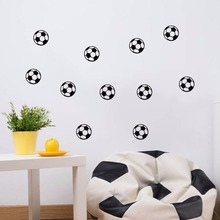10/20PCS/SET Personalized Soccer FootBall Sticker Wall Art Decal for Boys and Girl Bedroom World Cup Sport Fans Home Decor  ZZ