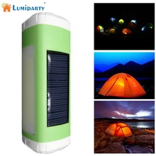 LumiParty Outdoor Portable Solar USB Powered LED Flashlight Sidelight Wireless Bluetooth Speaker Player Support FM Radio TF Card(China)