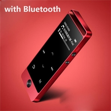 2017 Latest Version Bluetooth mp3 music player Touch Screen Original BENJIE S5B 8G Lossless Sound Support FM Radio Micro SD Card(China)