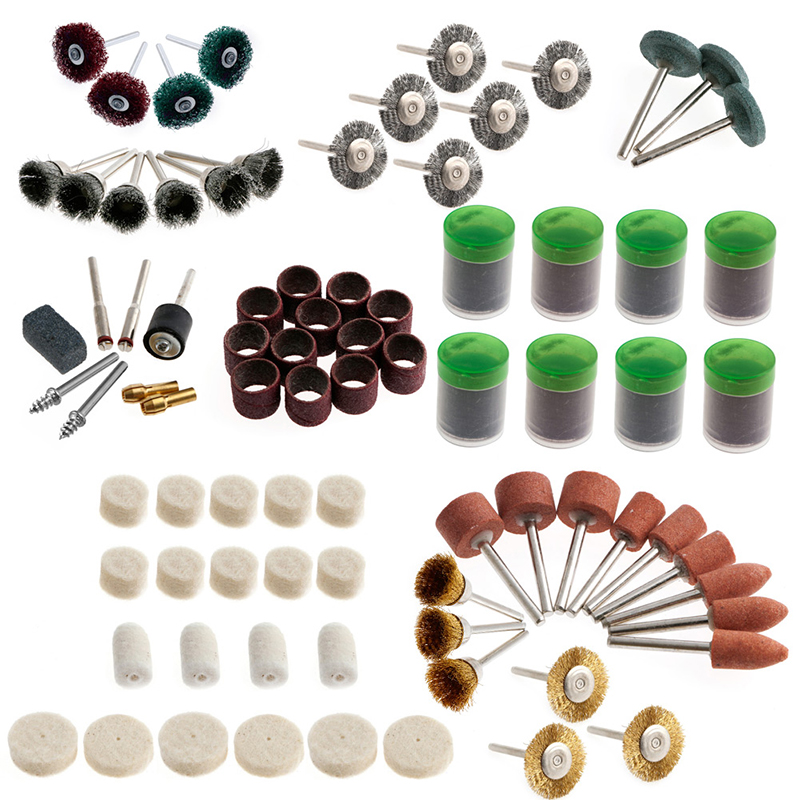 337Pcs/set Rotary Tool Accessory Kits Fits Dremel Grinding Sanding Polishing<br><br>Aliexpress