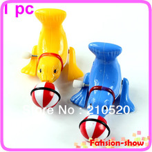 1 Piece New Funny Clockwork Wind Up Lovely Dolphin Children Kids Party Toy Gift(China)