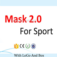 18/Color Newest Training Sport Mask 2.0 For Men Fitness Outdoor Sport With Man/Women With Box Logo Best Package Fast shipping