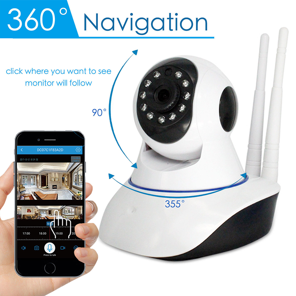 Full HD 1080P Home Security IP Camera Wireless WiFi Camera Surveillance Normal Infrared CCTV Security Surveillance Video Camera<br>