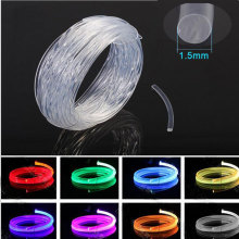5m PMMA optical fiber cable side glow 1.5mm fiber optic lighting decoration for car home