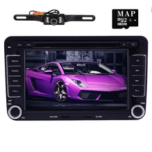 Auto Radio 2 Din Car DVD VW Navigation for Volkswagen GOLF 4 GOLF 5 6 POLO Passatcc Jetta Tiguan Touran Scirocco T5 with GPS MAP(China)