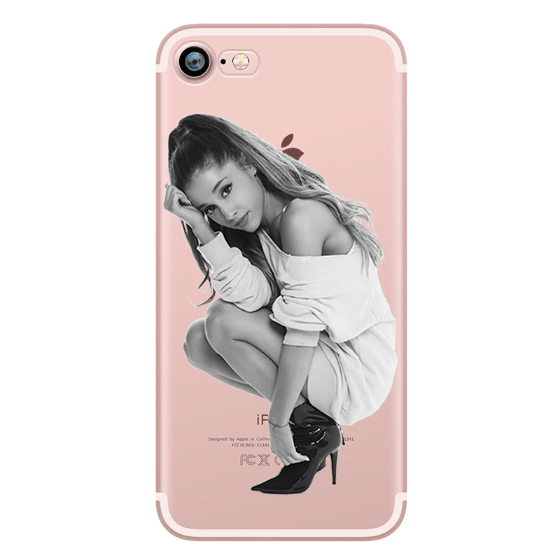 Ariana Grande Coque Dangerous Woman Everyday Beauty and the Beast Phone Cases for iphone 5s 7 6 plus 6s SE 5 Soft Clear Silicone (6)