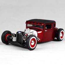 Alloy Car Toy 1/24 1929 Ford Modified Diecast Model Car Kids Toys Christmas Gift Collection(China)