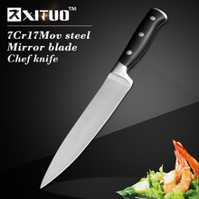"Sharp Japanese Kitchen Knives 7"" inch Stainless Steel Chef Knife Santoku Cleaver Paring Vegetable Slicing Utility Knives tools"