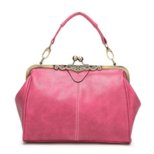 casual vintage small gray color nubuck PU leather lady messenger bag napped suede ladies hand bags hot pink women shoulder bags(China)