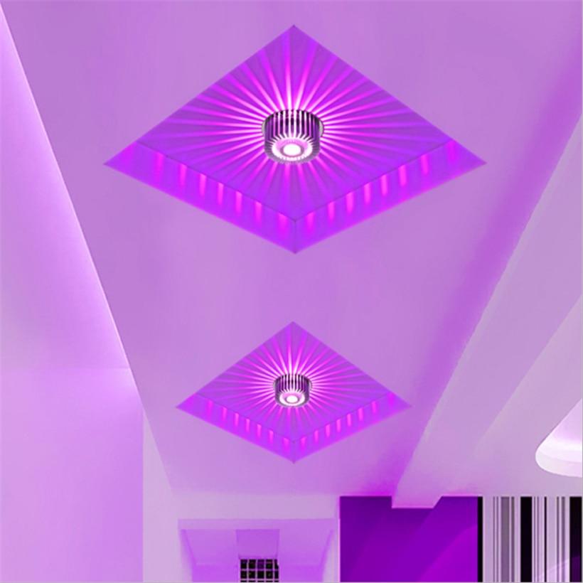 LED Crystal Aisle Celling Light (11)