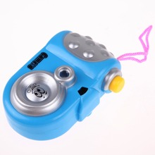 Cute Children's Kids Toys Camera Baby Cartoon Study Toy Projection Camera Electronic Toys for Children brinquedos Random(China)