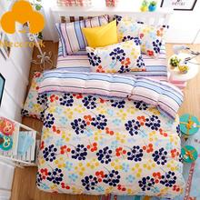 MECEROCK Hot Sale Brand Bedding Set Fruit Pattern Duvet Cover Set Twin Full Queen King Flat Sheet Bed Linen(China)