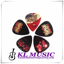 Nice goods 1000pcs customize guitar pick size 0.71mm