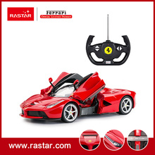Rastar licensed 1:14 Ferrari LaFerrari 4 chanles Radio Control Racing Car Electric RC Drift Car Sale remote control car 50100(China)