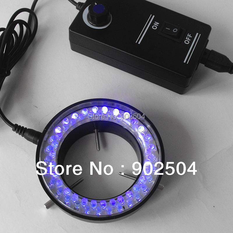 Purple Light 60 Led Lamps Ring Lamp used on Stereo Biological Zoom Stereo Microscope Parts with Adapter 220V or 110V<br><br>Aliexpress