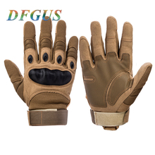 Military Tactical Gloves Men's Gloves Hiking Gloves Outdoor Sport Gloves Hunting Climbing Cycling 3 Colors