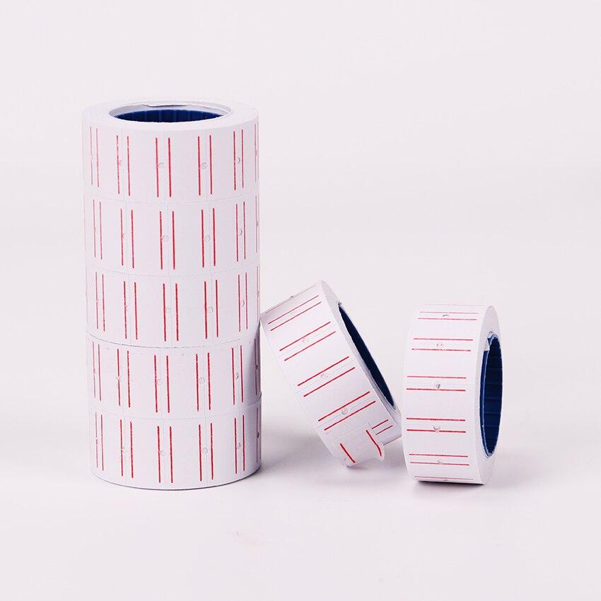 1 шт. Белый самоклеющиеся ценники бумага тег отметка наклейка на ценник наклейка канцелярские товары стикеры s