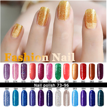 MDSKL Hot Sale 10ML UV LED Gel Nail Polish Vernis Semi Permanent Gel Lak Nail Art 132 Colors Soak Off Nails Gel