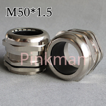 1pc Metric System m50*1.5 Nickel Brass Cable Glands Apply to Cable 32-38mm(China)