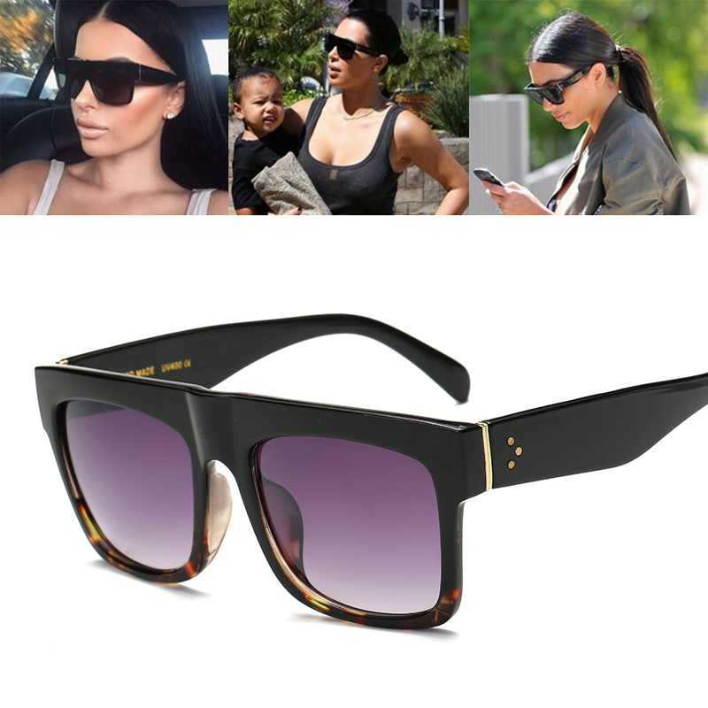 Beyound Star New Fashion Luxury Brand Designer Kim Kardashian Sunglasses Women Retro Shades Sun Glasses Men Gafas Oculos 98001<br><br>Aliexpress