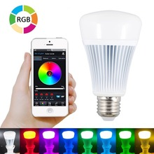 Mi Light Smart Bluetooth 4.0 LED Light RGB + Color temperature Control hone App Control, Wireless, Dimmable, Energy Efficient(China)