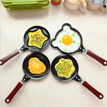 Hot Creative Egg Mould Pans Lovely Mini Breakfast Egg Pans for Kids Egg Rings Cooking Tools Kitchen Accessories Utility 2017 New