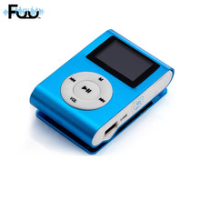 FUU Mini MP3 Music Player High Quality MINI Clip Sport MP3 Player With Micro TF/SD Card Lithium Battery Slot 2016 New Arrival