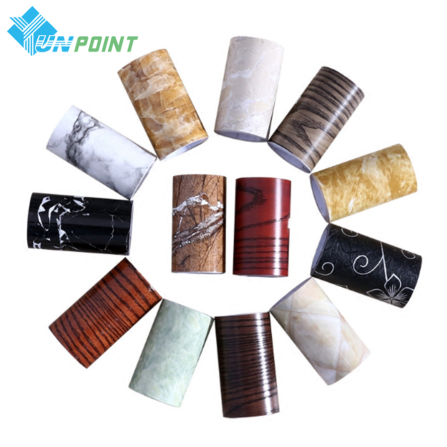 10*500CM Living Room Waist Line Wall Sticker Bathroom Kitchen Tiles Waterproof Self Adhesive PVC Wallpaper Border Wood Stickers(China (Mainland))