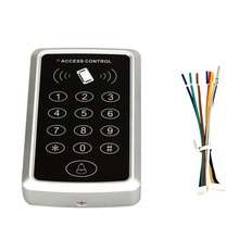 1000 users Card / possword / card+password single door access control standalone keyboard door access control system(China)