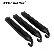 WEST BIKING Portable Puncture Repair Tool Kit Bicycle Cycling Tire Tyre lever Bike Tyre Opener Breaker Tool Kits Set Black 6pcs
