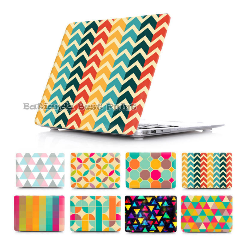 BTD Unique Case Cover for MacBook Pro Retina 13 15 MacBook 12 Air 11 13.3 inch Abstract geometric stripe pattern Shell Sleeve<br><br>Aliexpress