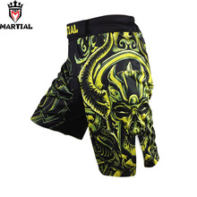 Martial brand original design Taurus printed MMA fight shorts boxe muay thai SHORTS grappling MMa shorts stretch mma shorts(China)