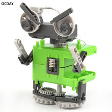 Hot ! OCDAY Four In One Transformation Assembly Robot Toy Special Design Models & Building DIY Experimentation Exploiture Toy