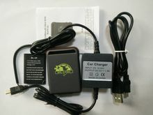car gps tracker personal gps tracker TK102B + Hard wire car charger +USB cable(China)