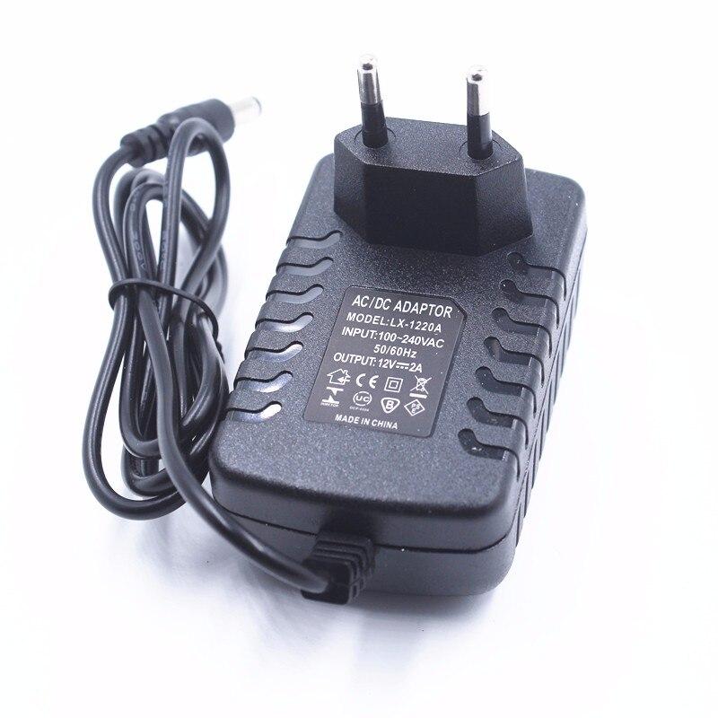 NIUKETAT LX1202 12V 2A 12V2A LED power adapter EU plug 5.5*2.5 LED Power Supply Adapter EU plug drive for 5050 3528 LED Strip<br><br>Aliexpress