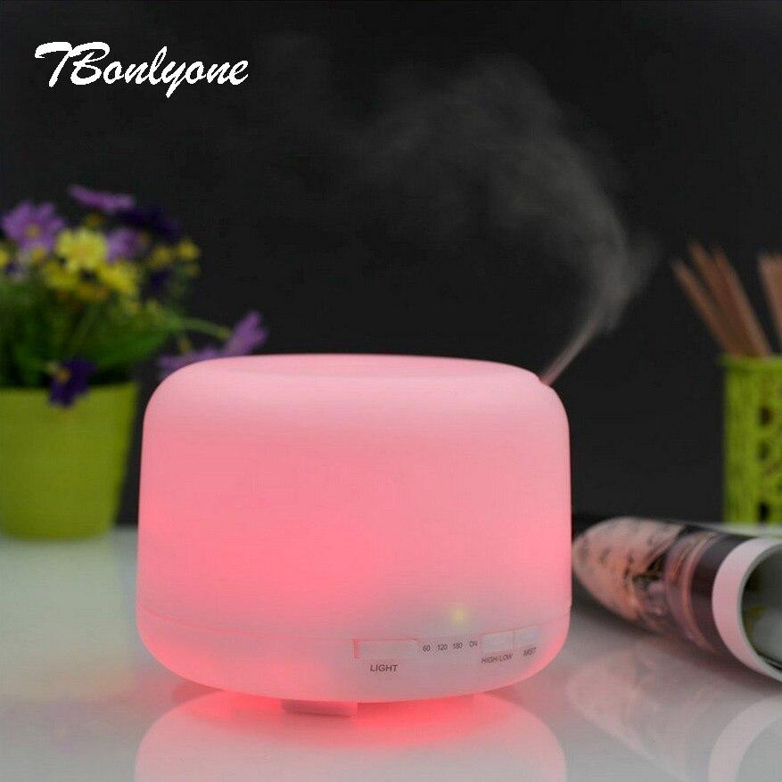 TBonlyone 500Ml Mini Aroma Diffuser For Office Bedroom Mini Air Humidifier Ultrasonic Essential Oil Aromatherapy Diffuser<br>