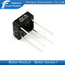 5PCS  KBPC1010 10A 1000V diode bridge rectifier new and original IC free shipping