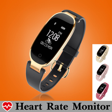 New Swim Women Fitness Bracelet Smart Bracelet Band Heart Rate Monitor Smart Wristband Music Control Pedometer Fitness Tracker