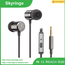 bulk tv mp3 earphone with mic china supplier wired earphone