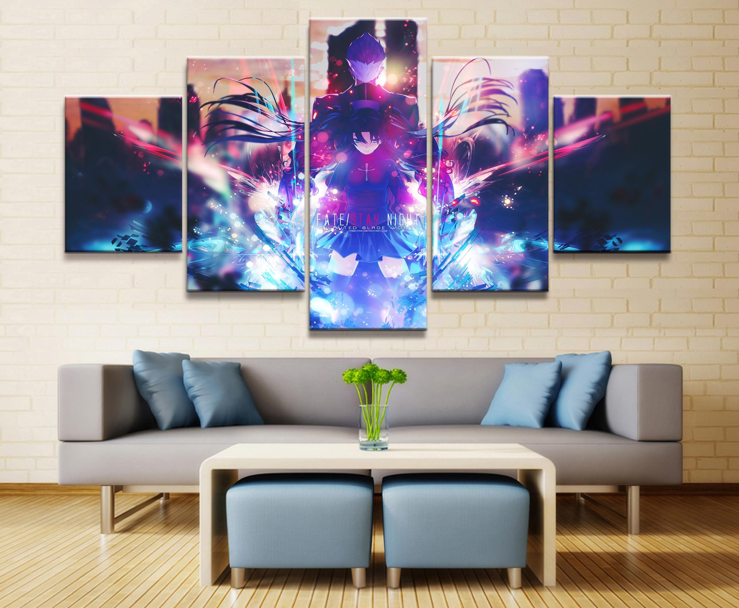Dragon Ball Saiyan HD Canvas Print Painting Home Decor room Wall art Picture 612