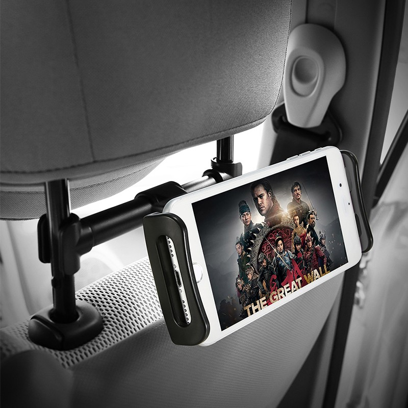 Car Phone Holder Back Seat Tablet Bracket 4-11 Inch 360 Degree Car Holders For iPhone X 8 iPad 2 3 4 Mini Mi Pad 2 3 Mediapad (16)