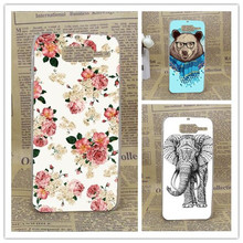 Patterns printed animals Flowers and Towers design hard Cover Case for Motorola RAZR D3 XT920 XT919 phone case For MOTO D3(China)