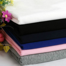 50*170cm width stretchy 32S cotton knitted spandex cotton fabric Leggings T-shirt making cotton fabric