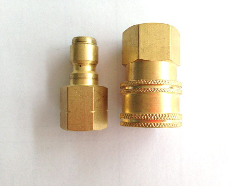 Free shipping! 3/8 Quick Disconnect Set/Brass Adapter/Pressure washer connector<br><br>Aliexpress