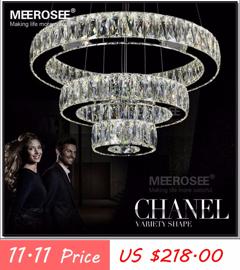 Led Crystal Chandelier Light For Aisle Porch Hallway Stairs Crystal
