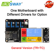 "3DSWAY Lerdge Board with Thermistor and Thermocouple 3D Printer Controller Board ARM 32bit DIY Kit with 3.5"" TFT Auto-leveling"