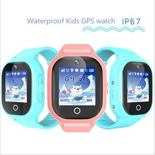 2017 new GPS tracking watch for kids IP67 waterproof GPS Smart Watch swimming camera children Watch touch Screen SOS Call TD-05(China)