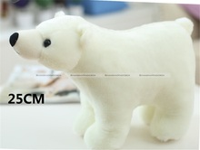"1Pc 20CM 7.8"" Cute Small Soft Stuffed White Polar Bear Plush Doll Toy Gift KTK"